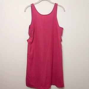 Abercrombie & Fitch | Pink Side Cutout Dress - S
